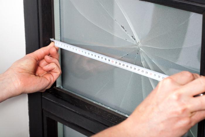 Measuring Broken Glass