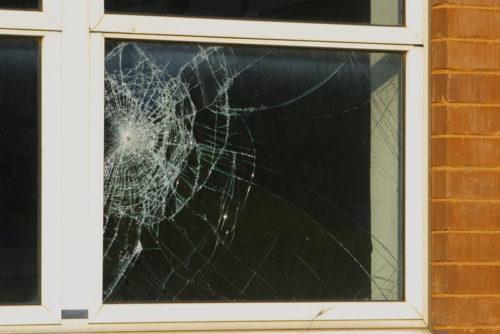 Window Needing Repair